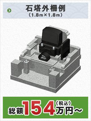 石塔外柵例 (1.8m×1.8m)